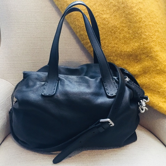 1bf1df8d7ccd Segatta Roth Bags | Jarbo Black Leather Bag | Poshmark